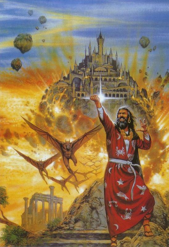 Дэвид Маттингли. Сжигание царства