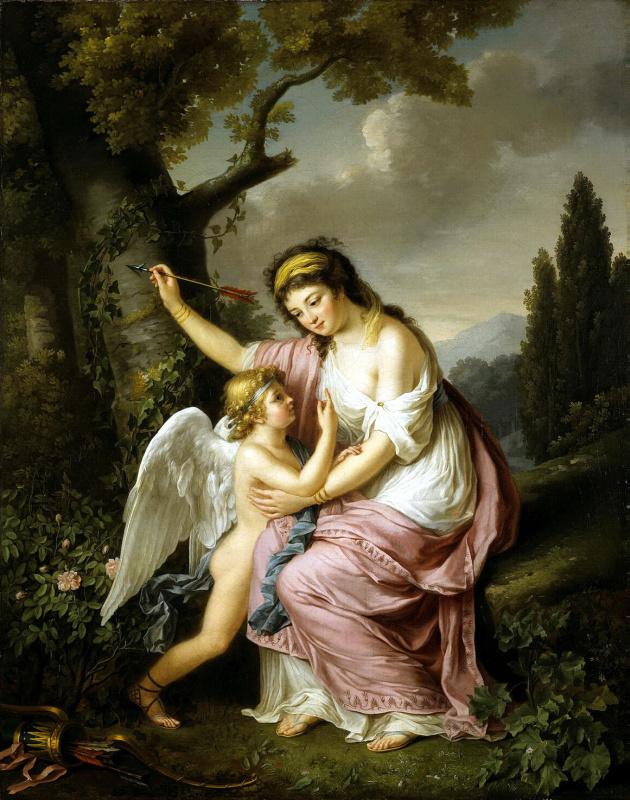 Мари-Виктуар Лемуан. Женщина и Амур
