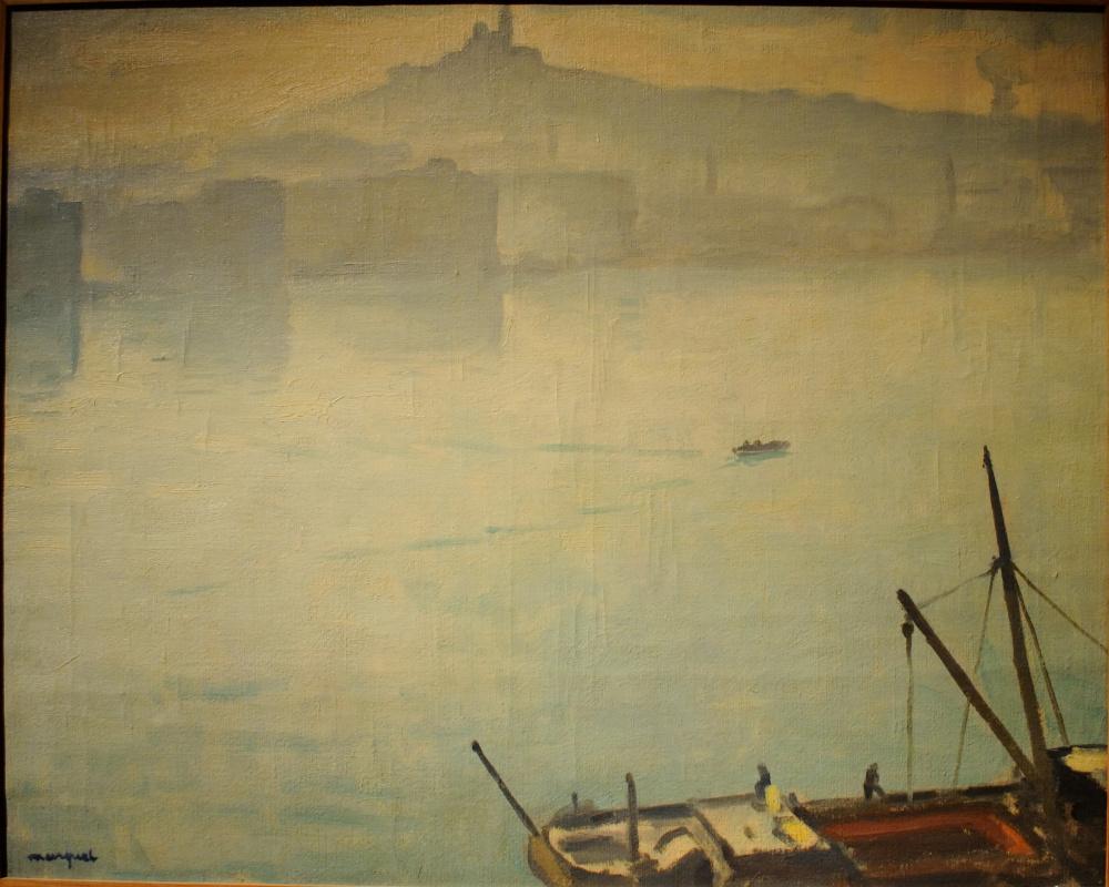 Albert Marquet. The Port Of Marseille