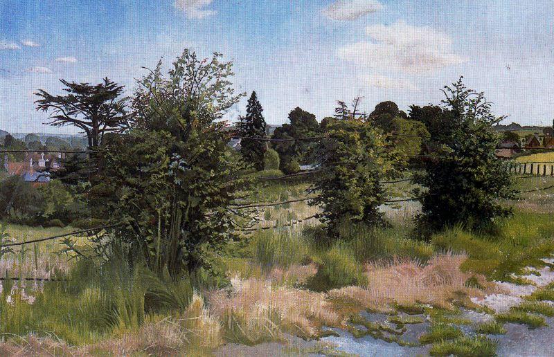 Stanley Spencer. Trees