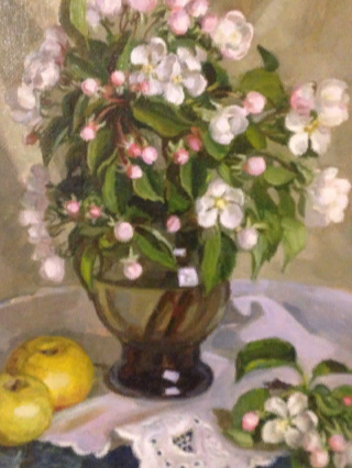 Эльза Давидовна Хохловкина. Apple Blossom