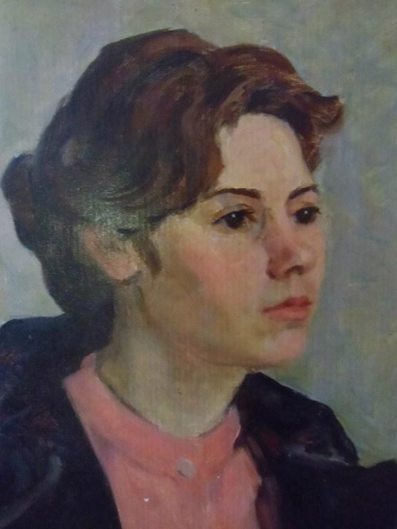 Валентина Матвеевна Фролова. Портрет девушки