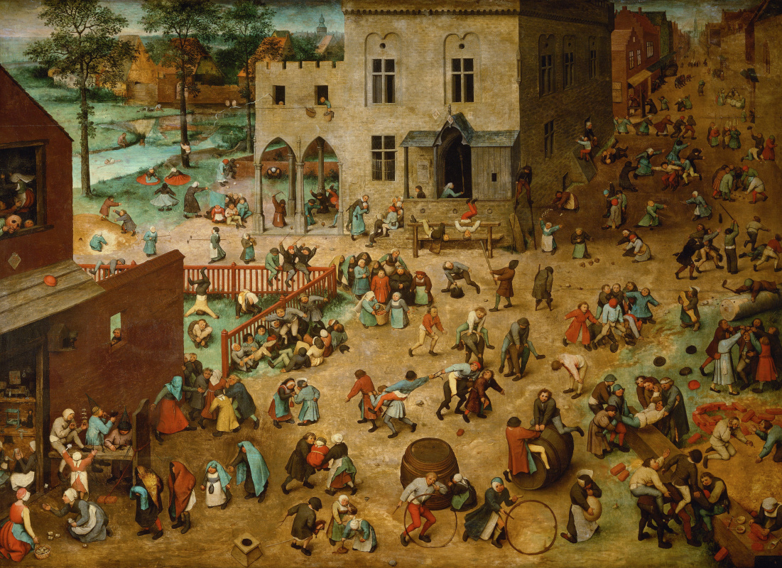 Pieter Bruegel The Elder. Kids games