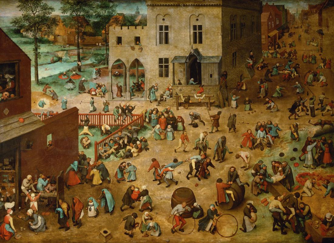 Pieter Bruegel The Elder. Kids games