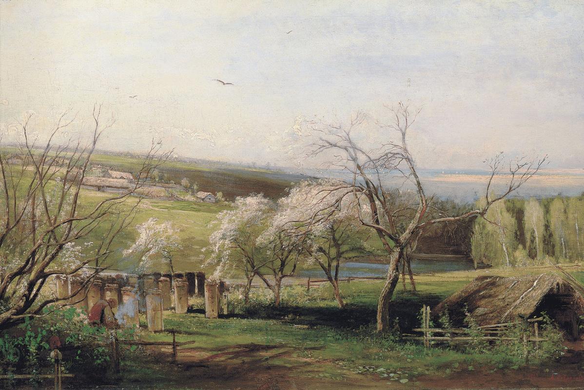 Alexey The Kondratyevich Savrasov. Rural view
