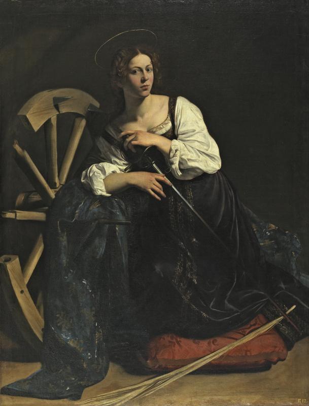 Michelangelo Merisi de Caravaggio. St. Catherine of Alexandria