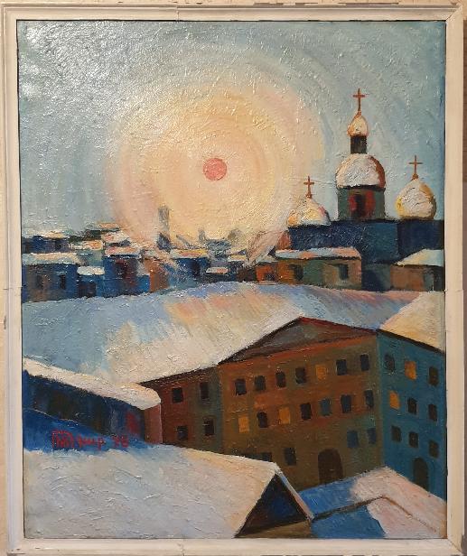 Robert Patwakanovich Gyulazyan. Leningrad landscape