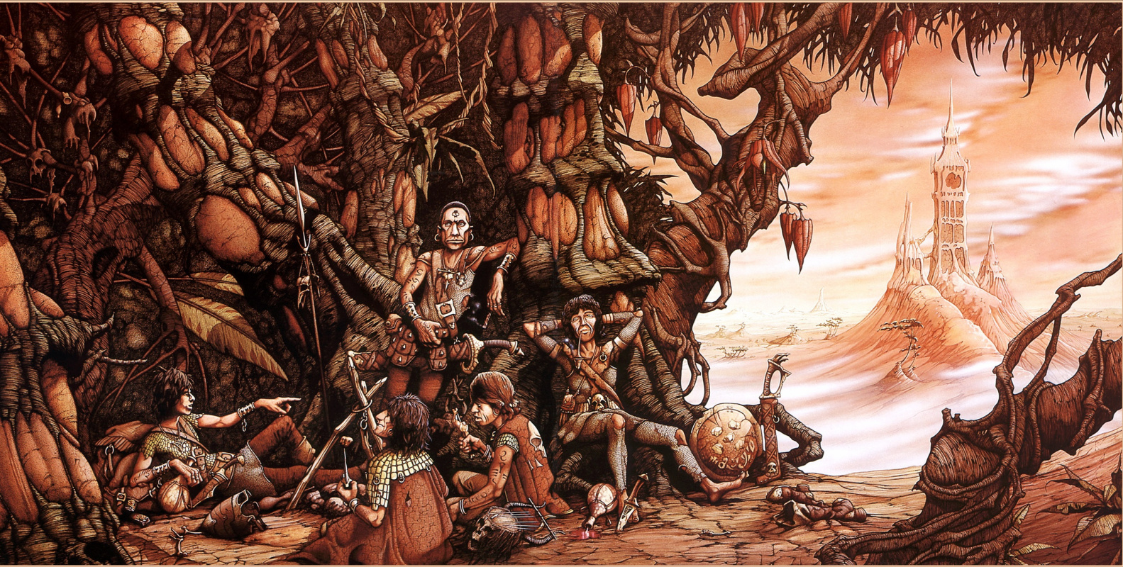 Rodney Matthews. Another time another place