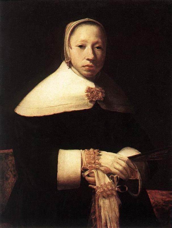 Виллем Дрост. Женский портрет