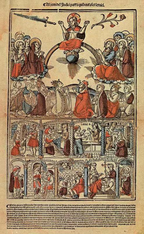 Клод Жилло. Семь дел милосердия