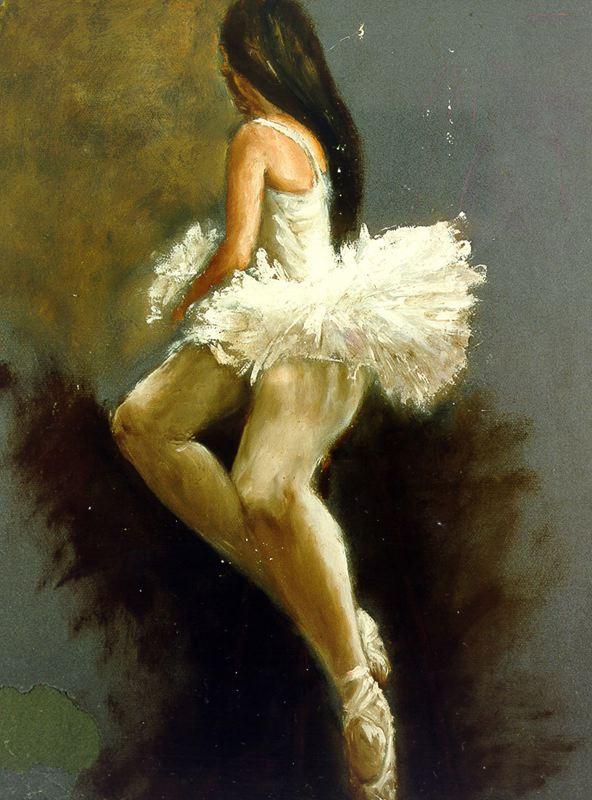 Мари Ромеро Кампо. Балерина