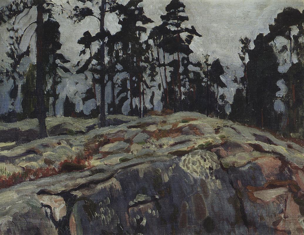Arkady Alexandrovich Rylov. Finland. Forest