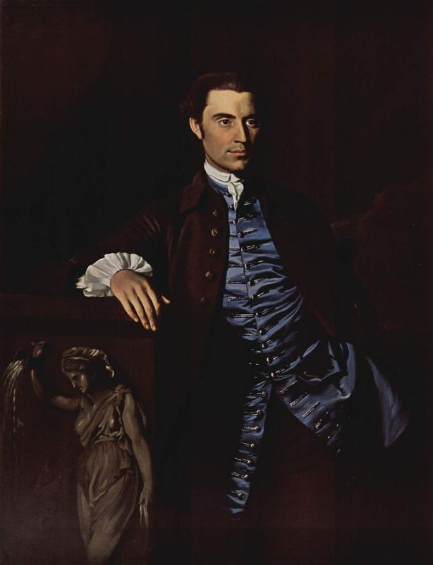 John Singleton Copley. Portrait Of Thaddeus Barr
