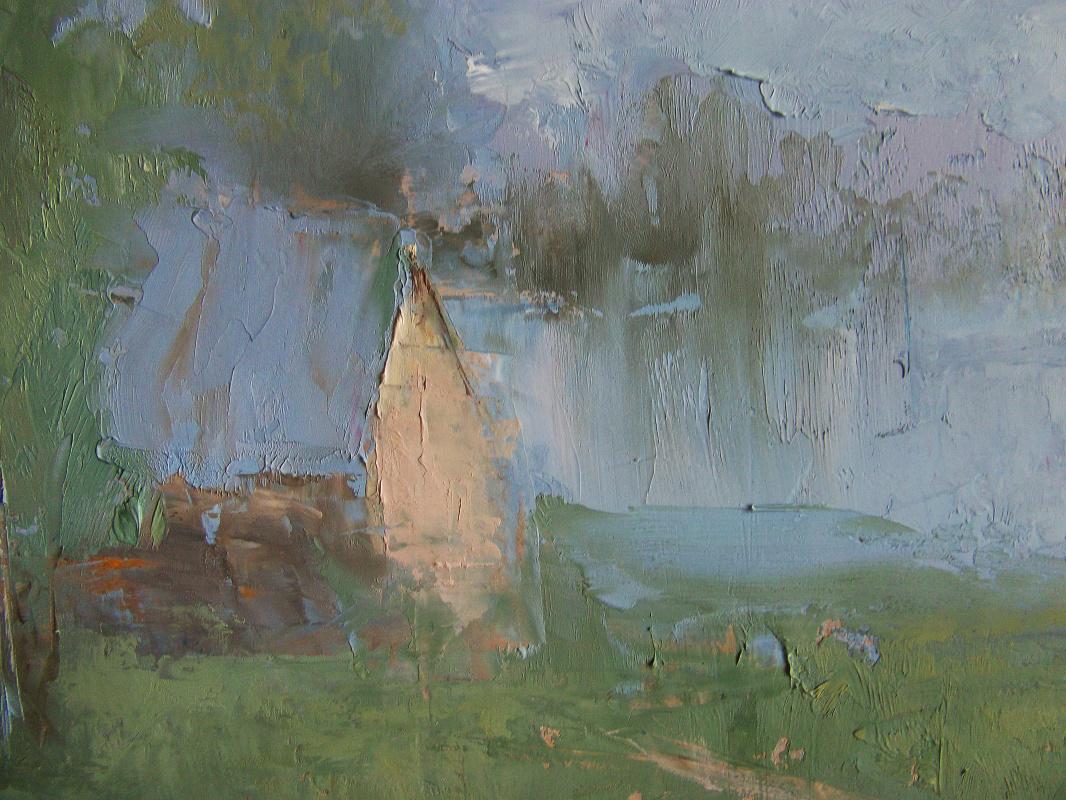 Lake house, sketch