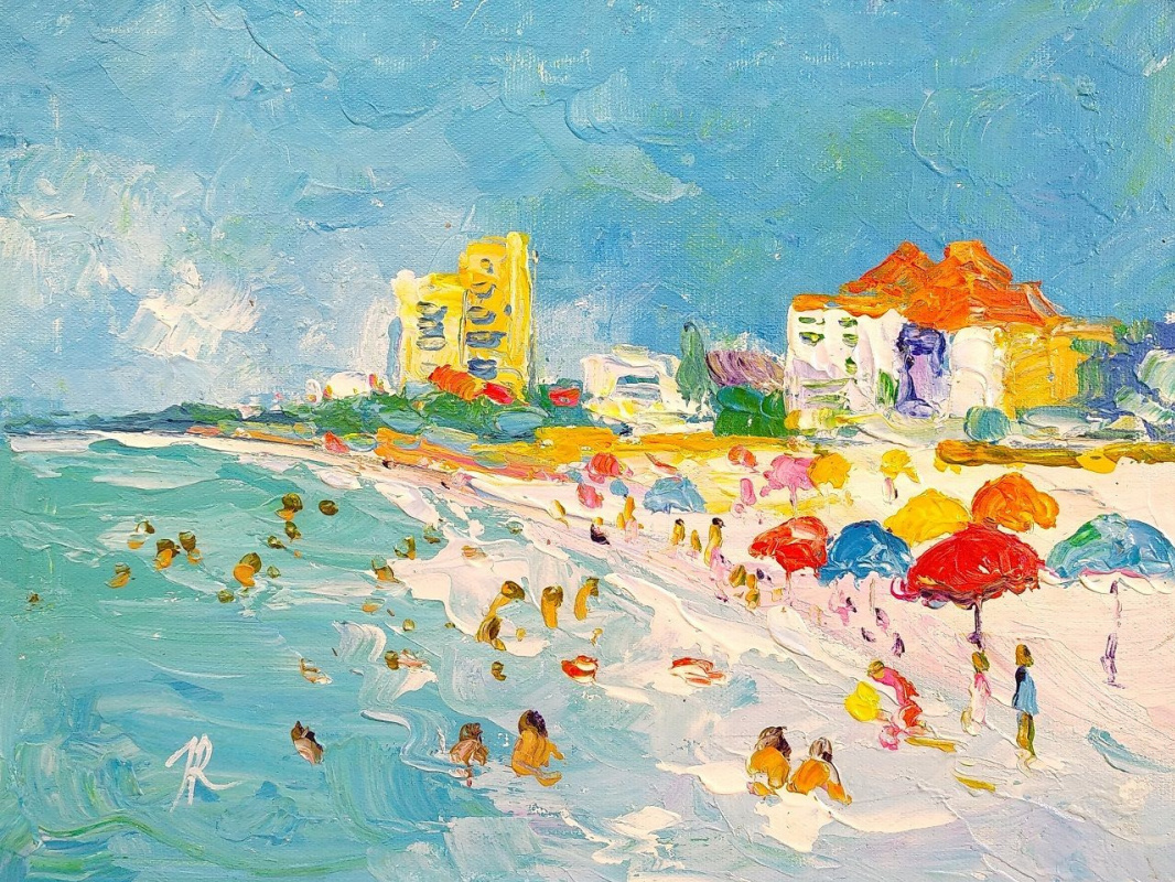Jose Rodriguez. Summer stories. Sea and beach