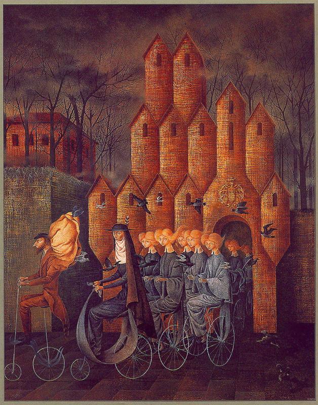 Ремедиос Варо. Башни