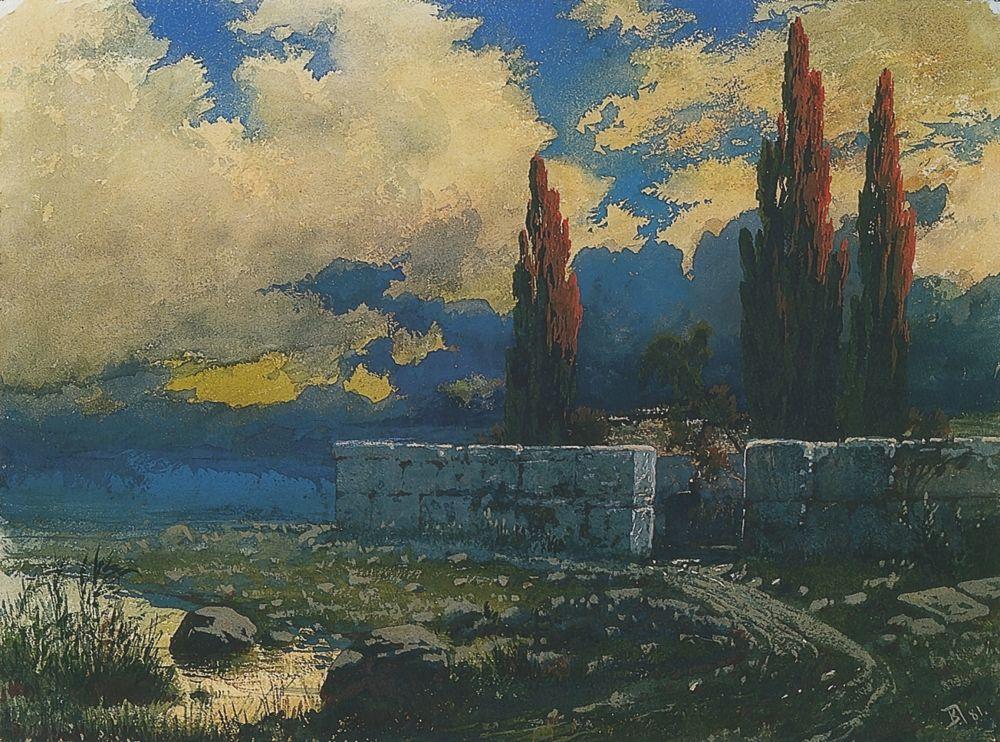 Василий Дмитриевич Поленов. Ближневосточный пейзаж
