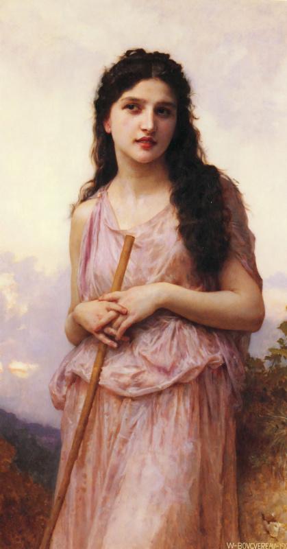 William-Adolphe Bouguereau. Reverie
