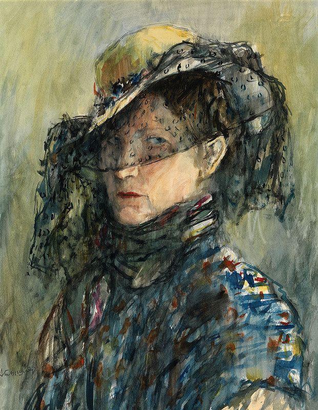 Alexander Grigoryevich Tyshler. Portrait Of Anastasia Tyshler