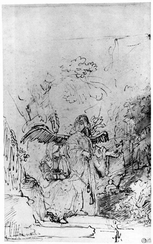 Фердинанд Балтасарс Боль. Агарь в пустыне