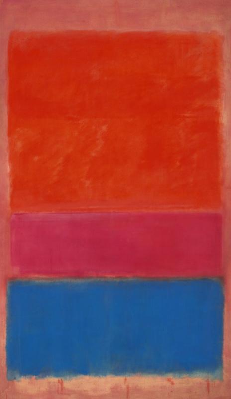 Rothko Mark.  No. 1 (Royal red and blue)