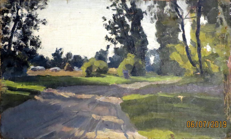 V.V. Honorsky. Road