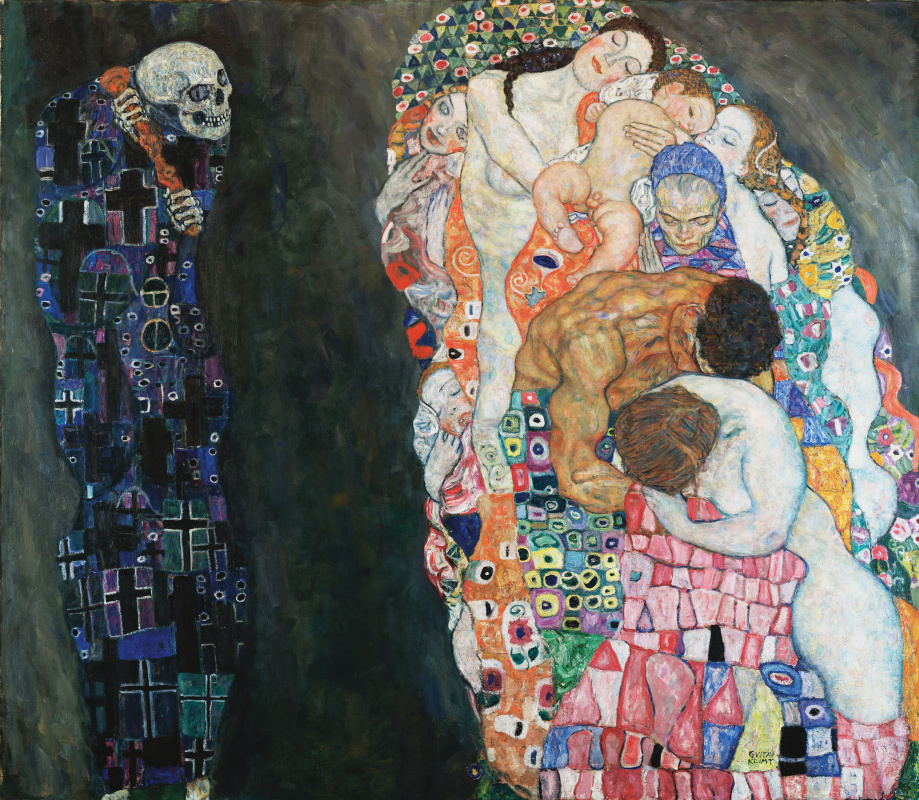 Gustav Klimt. Death and Life