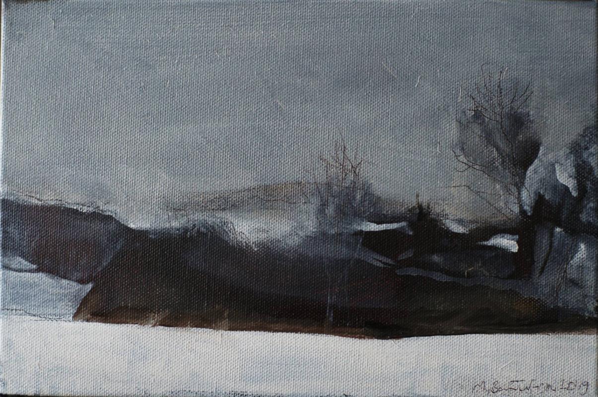 Matvey Weissberg. Winter in the Landscape Alley