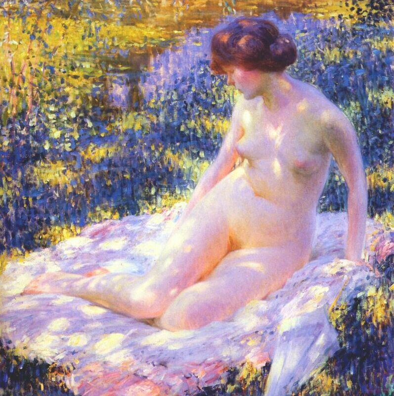 Louis Ritman. Naked, kissed by the sun