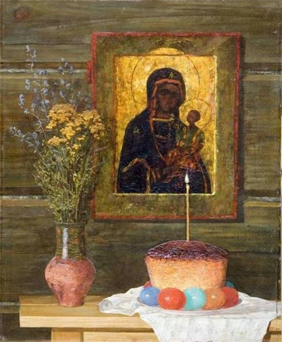 Александр Иванович Курочкин. Пасха
