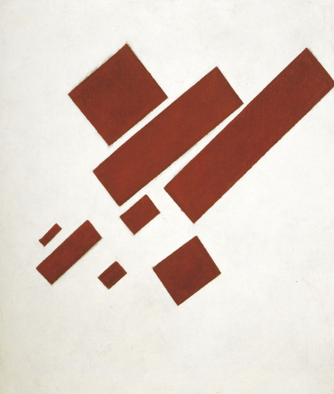 Kazimir Severinovich Malevich. Supreativism (with eight rectangles)