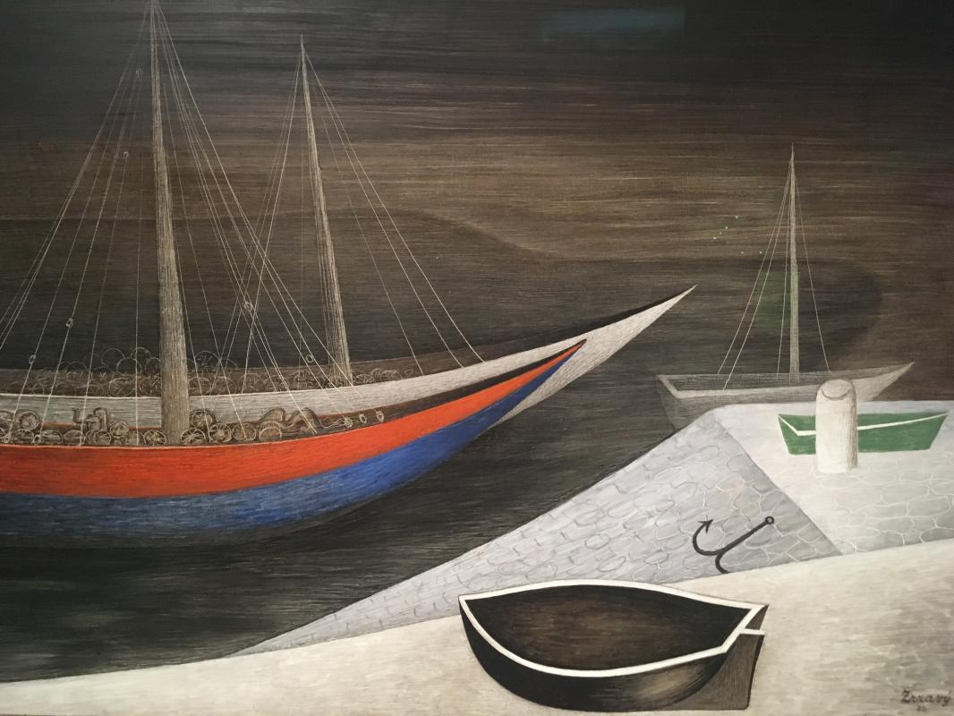 Jan Wrathful. Sleeping boats II, 1935