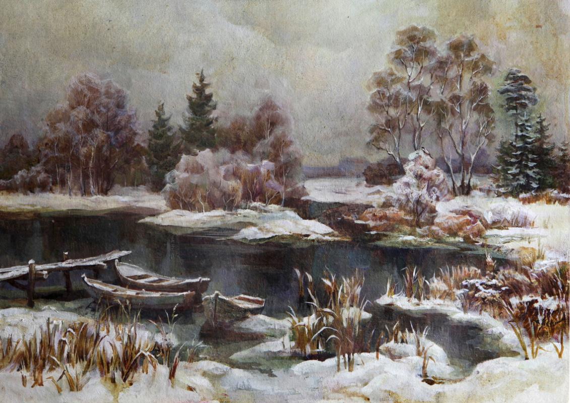 Victor Antipov. November