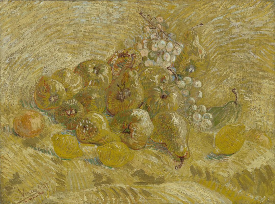 Винсент Ван Гог. Айва, лимоны, груши и виноград