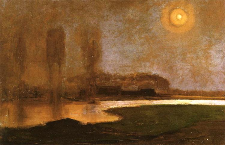 Piet Mondrian. Summer night