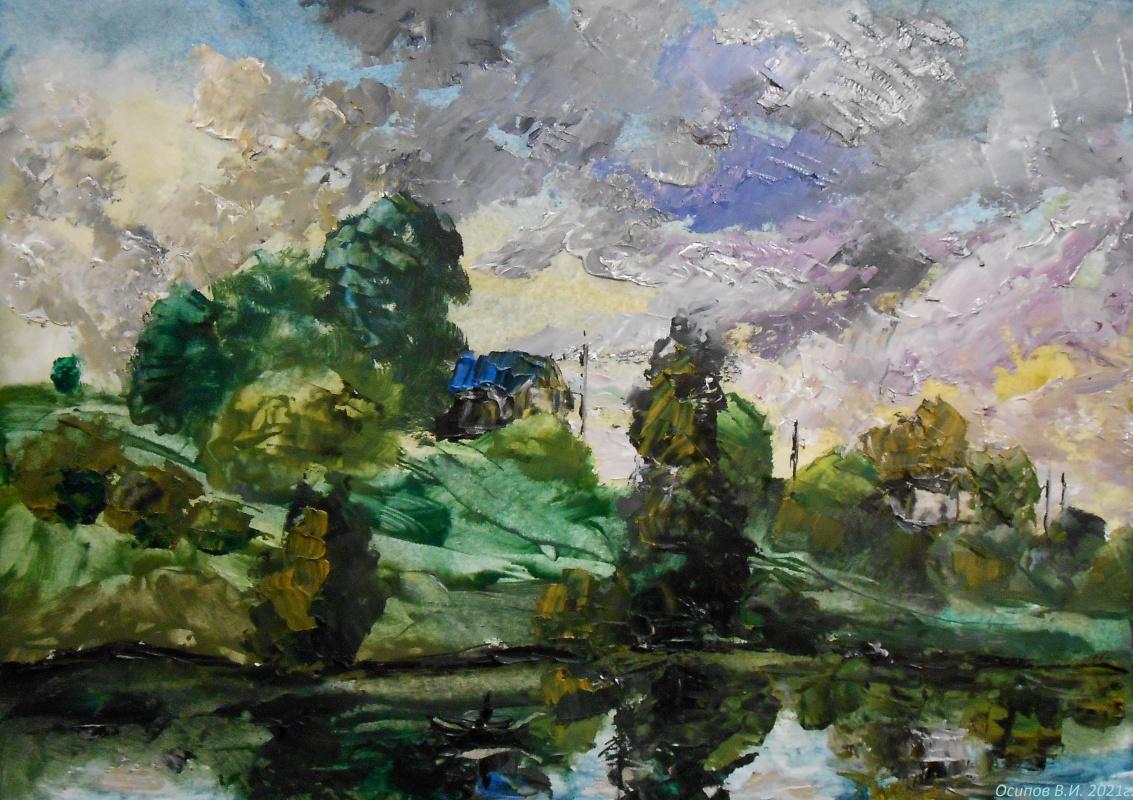 Владимир Иванович Осипов. After the rain