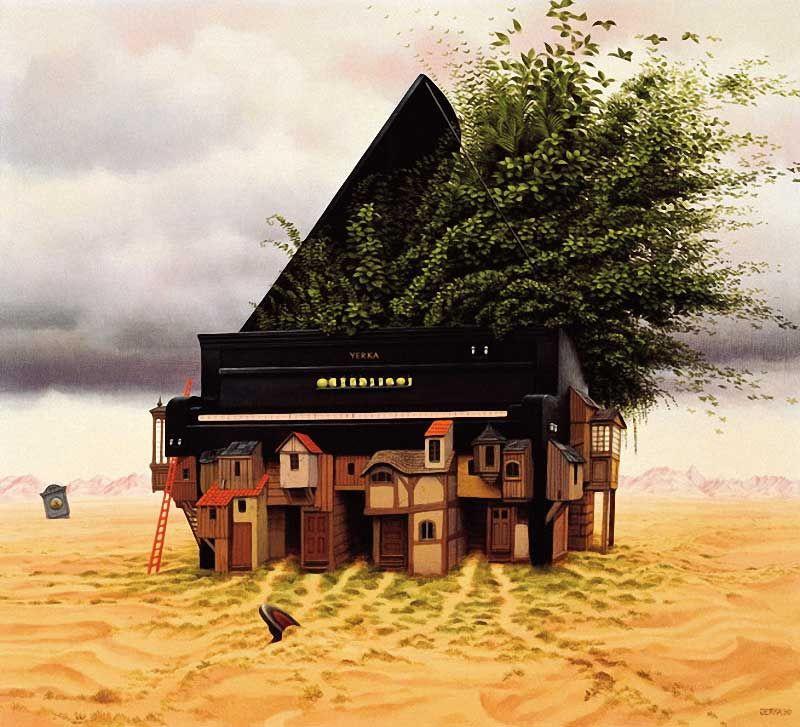 Jacek Yerka. Piano