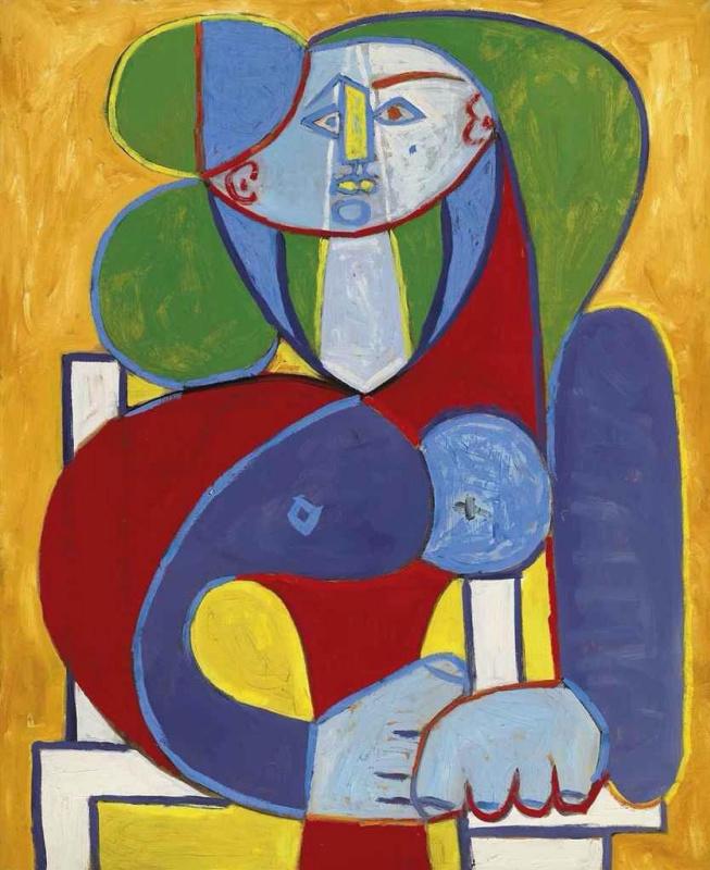 Пабло Пикассо. Бюст Франсуазы