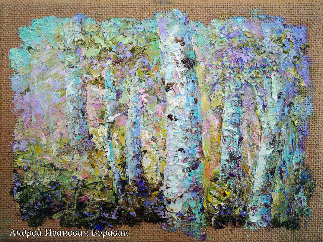 Andrei Ivanovich Boravik. Shimmer of spring