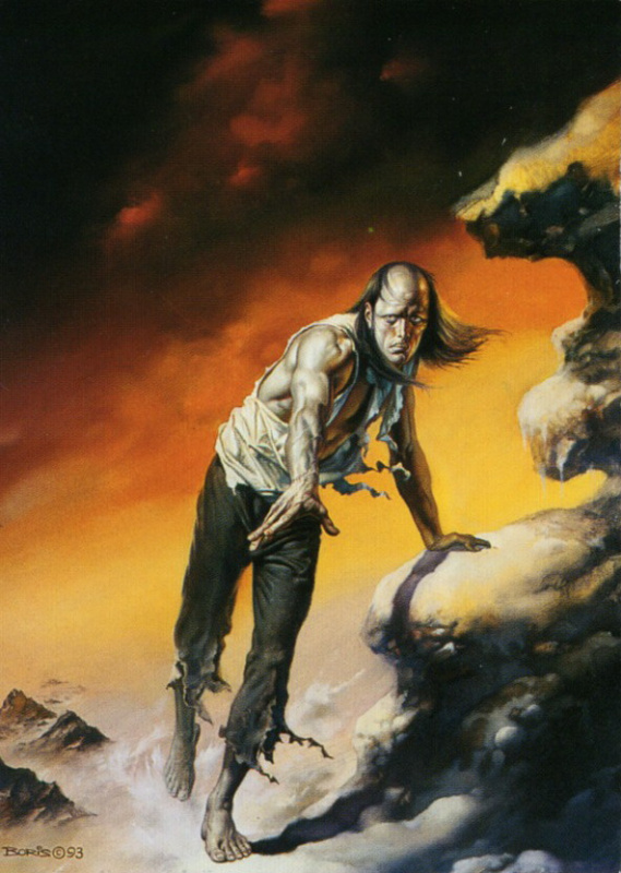 Boris Vallejo. Despair