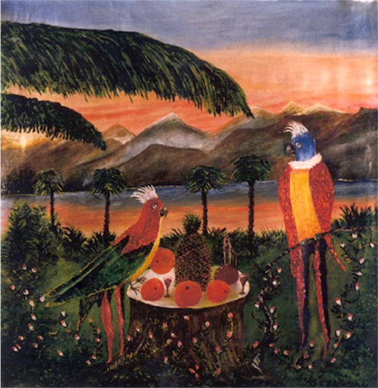 Vasily Vasilyevich Grigoryev. Parrots