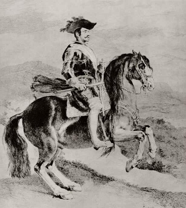 Франсиско Гойя. Конный портрет Филиппа IV, короля Испании