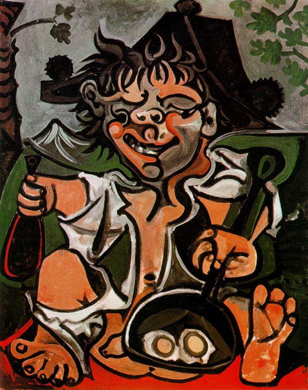 Пабло Пикассо. Бобо