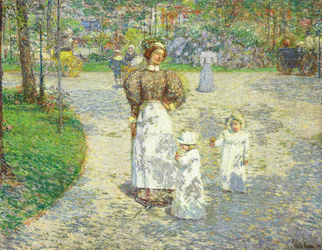 Чайльд Гассам. Весна в Центральном парке