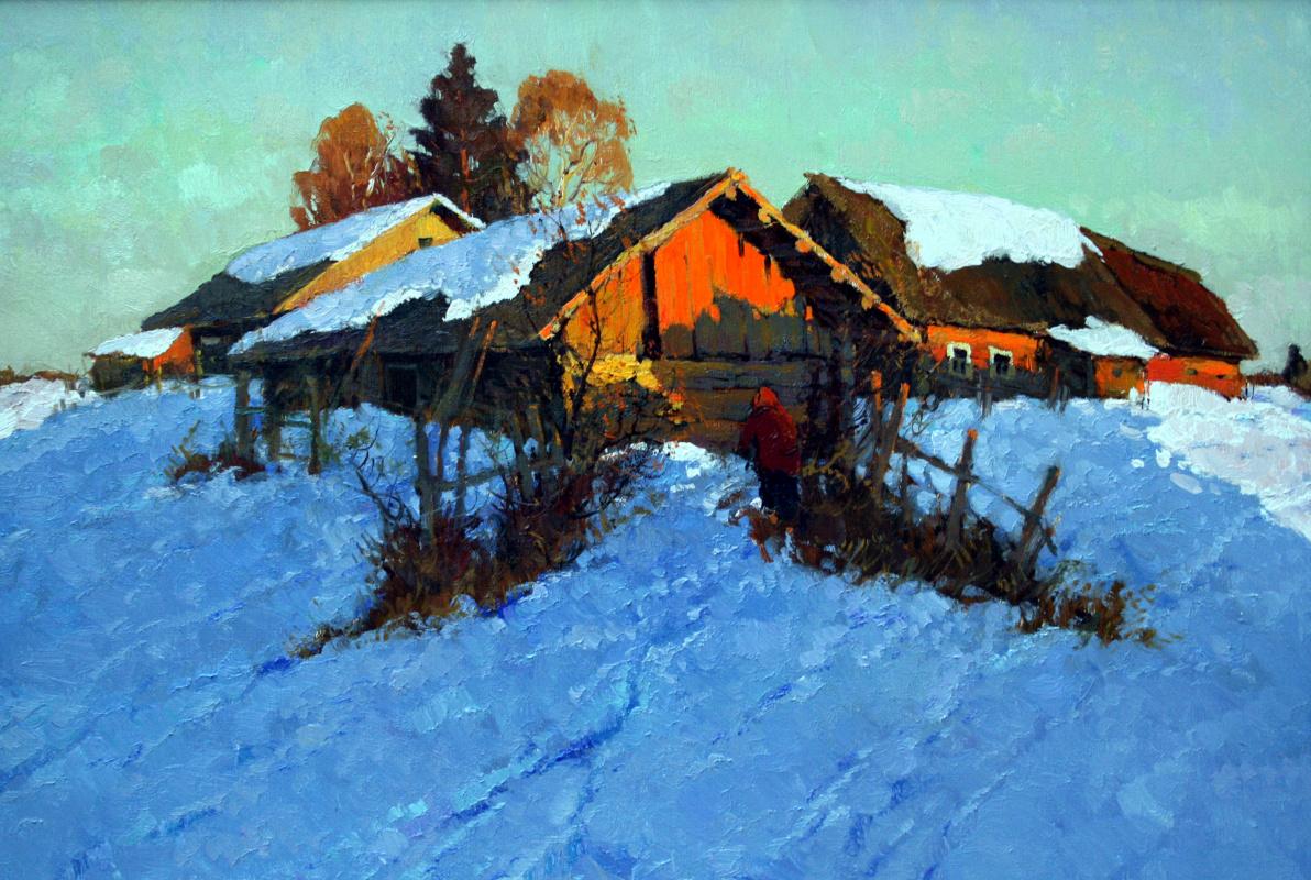 Alexander Markovich Kremer. Evening ray