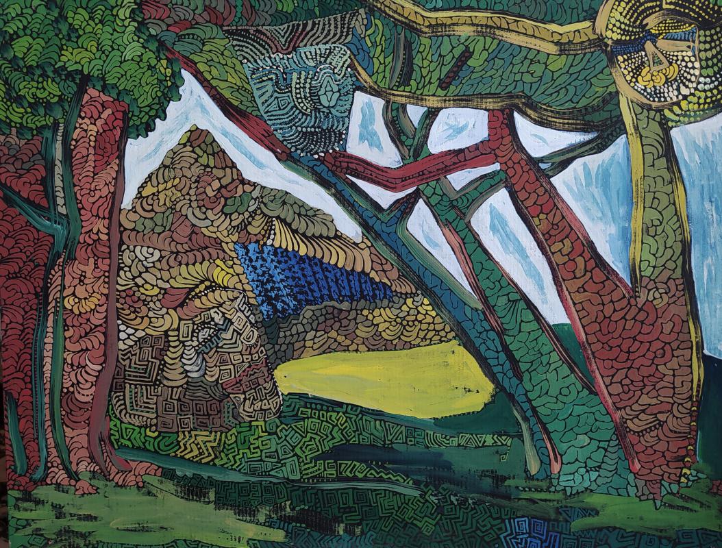 Artem Zavadsky. Sacred grove