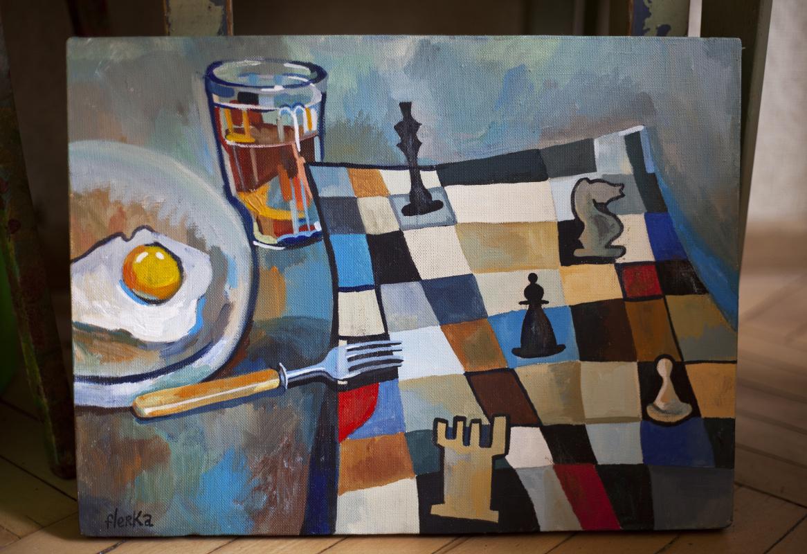 Daria Vasilievna Orekhova. Checkmate