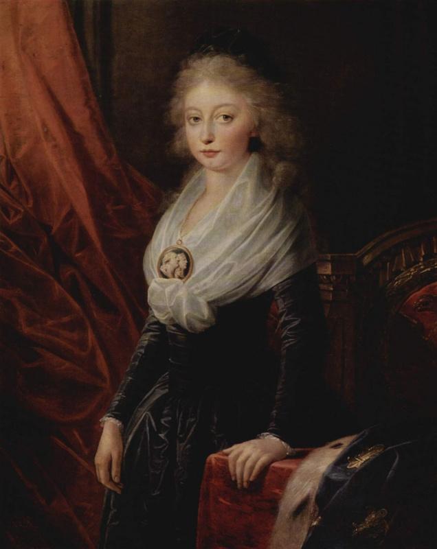 Генрих Фридрих Фюгер. Портрет Марии Терезии де Бурбон