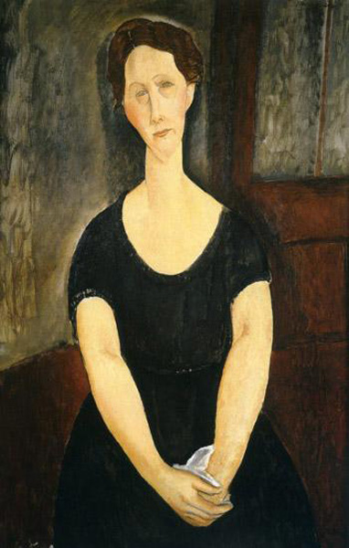 Amedeo Modigliani. Portrait of Madame Ayrault