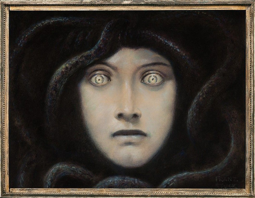 Franz von Stuck. The Head Of Medusa